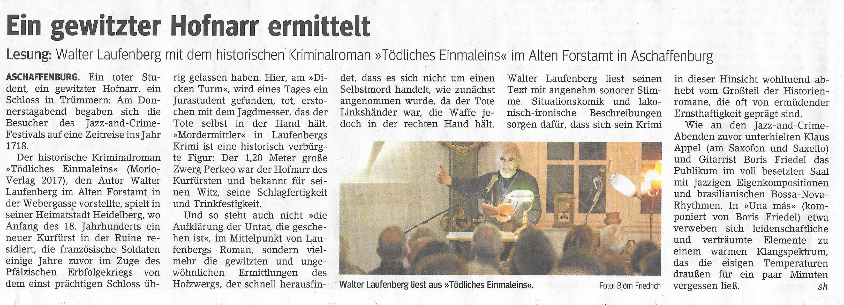Aschaffenburg-Presse